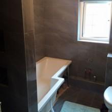 Bathroom Tiling Job